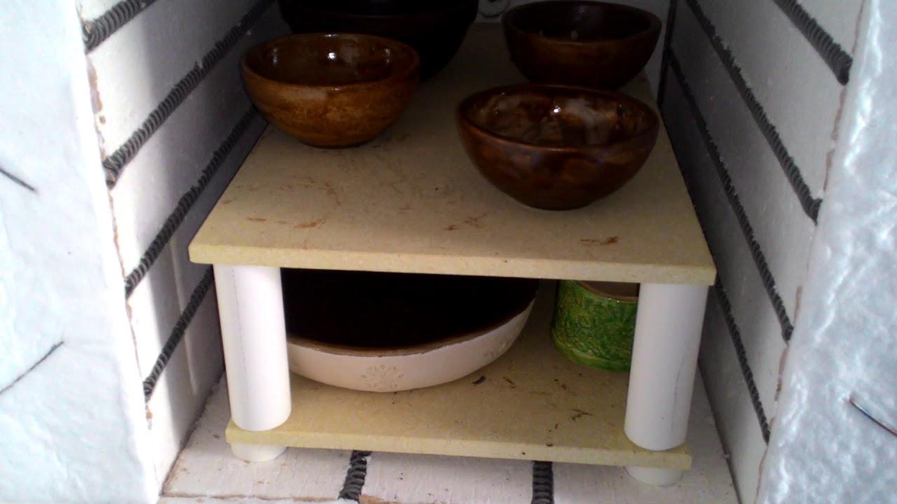 Обустройство печи для обжига глиняных изделий