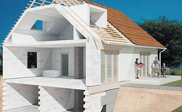 сколько стоит построить дом из газобетона