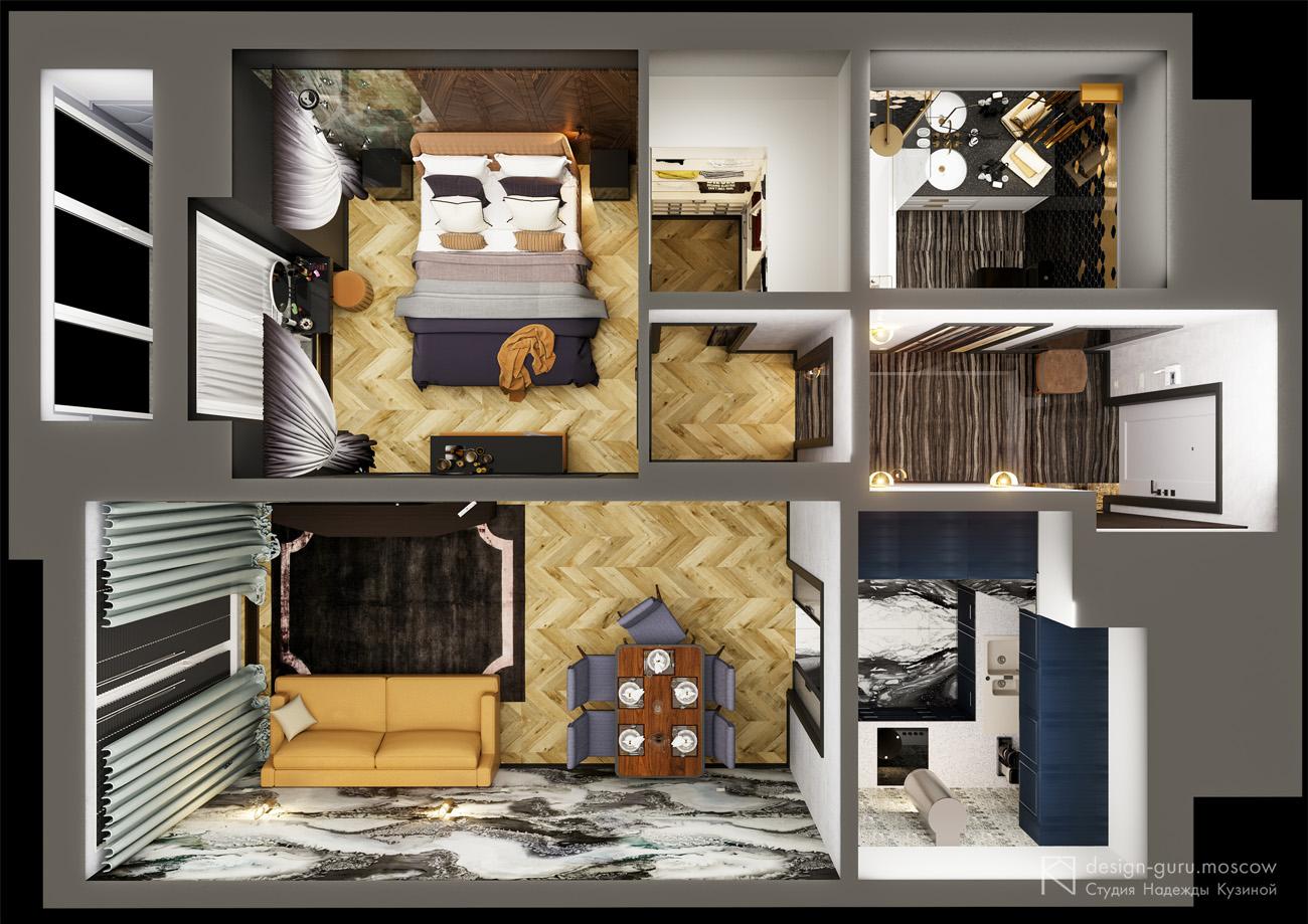 Как создать оригинальный интерьер маленькой квартиры — советы от опытных дизайнеров