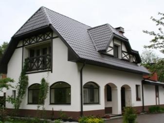 Дизайн фасада частного дома +75 примеров на фото