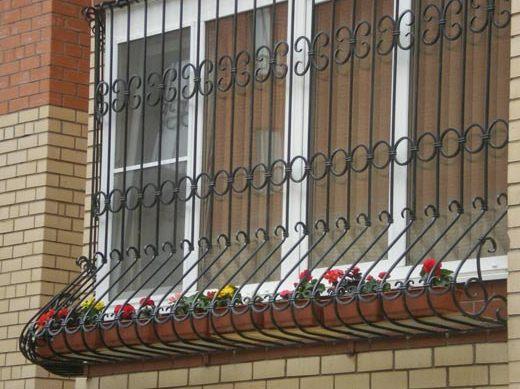 Цены на металлические решетки на окна в москве. стоимость стальных оконных решеток.