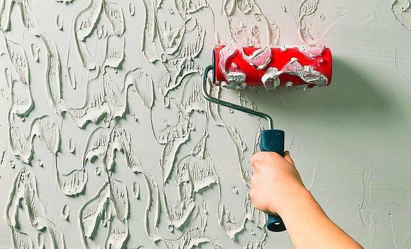 Как сделать декоративный валик для покраски стен своими руками