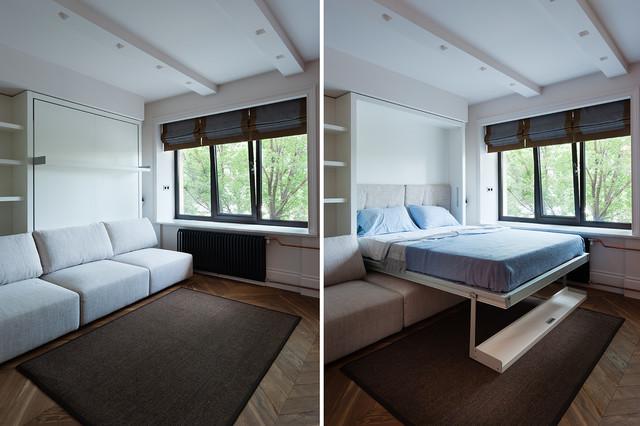 Как организовать пространство и дизайн по-умному, если площадь квартиры студии 20 кв. м.