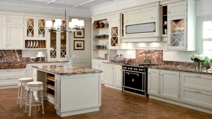 Кухня под дерево - свежие идеи для оформления интерьера