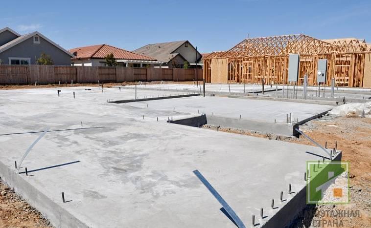 Как рассчитать бетон на фундамент дома размером 10 на 10 (6 на 6)