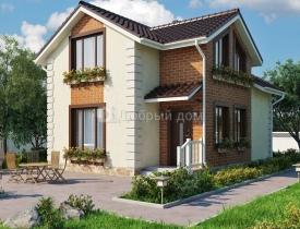 дом 7 на 8 одноэтажный