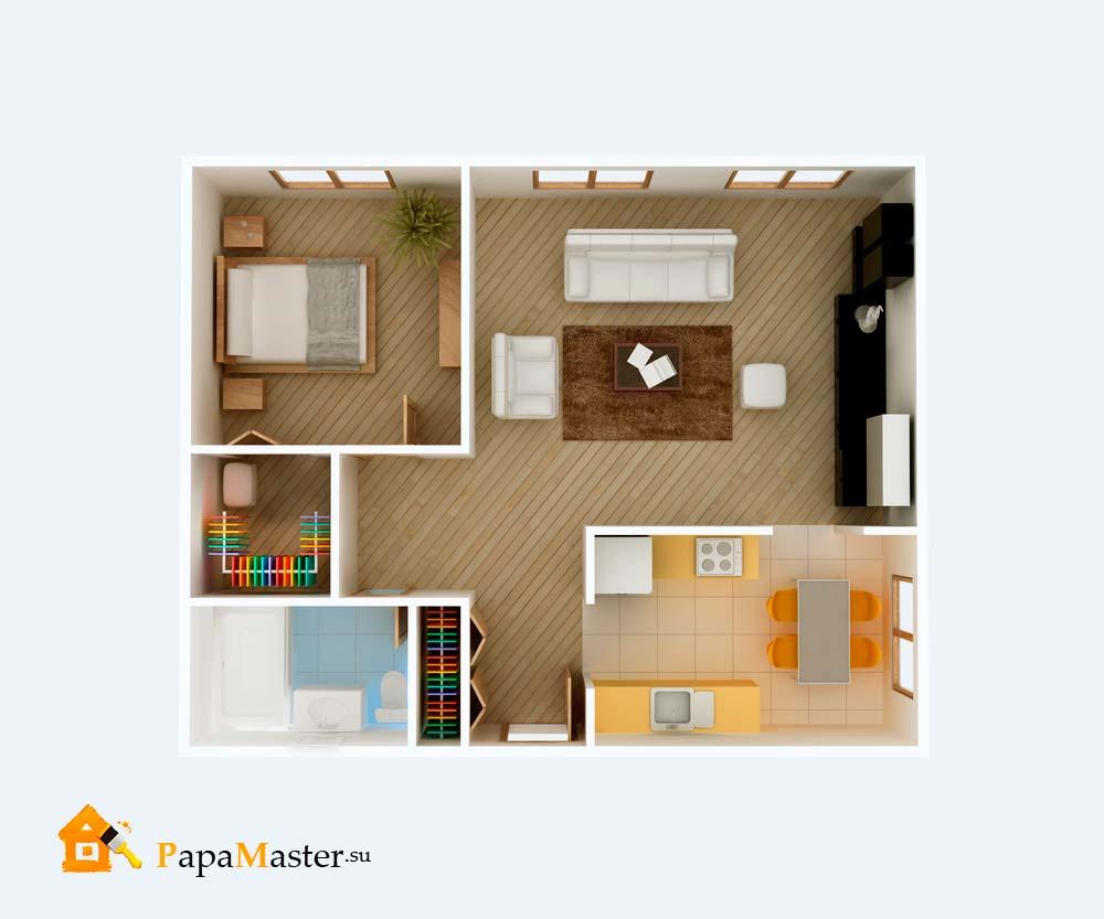 лучший проект одноэтажного дома
