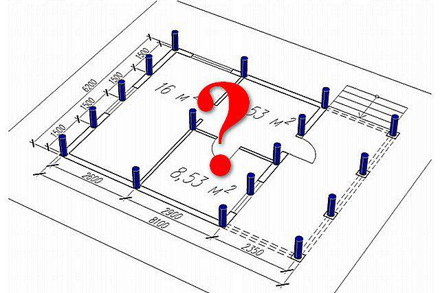 расчет количества свай для фундамента калькулятор