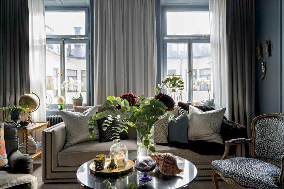 дизайн квартиры 50 м2 в современном стиле