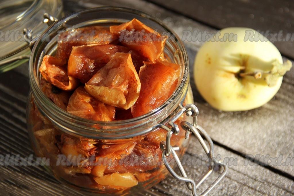 рецепты из яблок на зиму