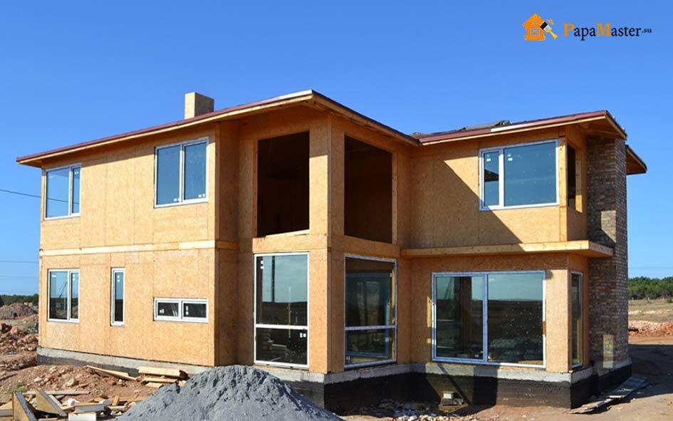 Коттедж из жб панелей. дом из бетонных панелей: виды материалов и технология строительства