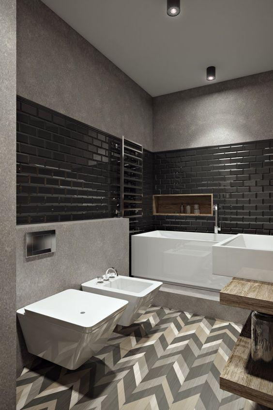 ванная лофт