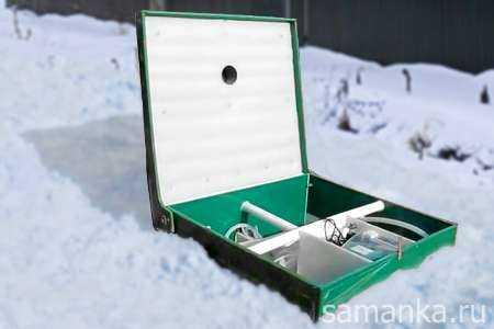 Консервация септика на зиму: как утеплить септик на зиму?