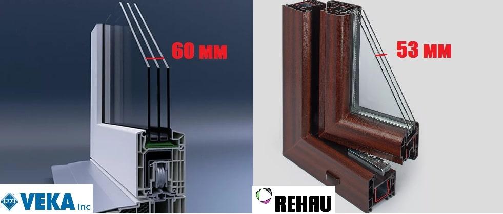 Чем отличается veka от rehau. какие окна лучше века или рехау