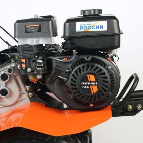Мотоблок patriot «калуга»: характеристики бензиновой модели с 7 л. с. как выбрать навесное оборудование? отзывы владельцев
