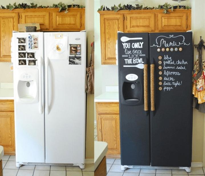 перекрасить холодильник