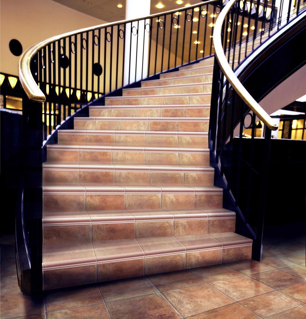 Советы по выбору и укладке керамогранита на ступени лестницы