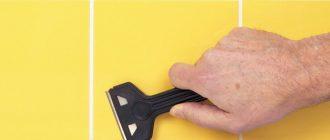 Чем удалить силиконовый герметик  способы очистки различных поверхностей - все про гипсокартон