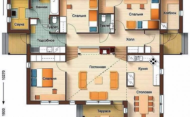 Готовые проекты загородных домов и коттеджей: каталог и цены