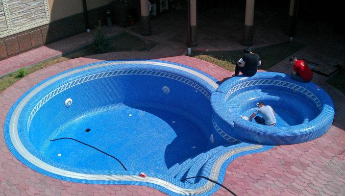Бассейн из бетона своими руками: как правильно залить