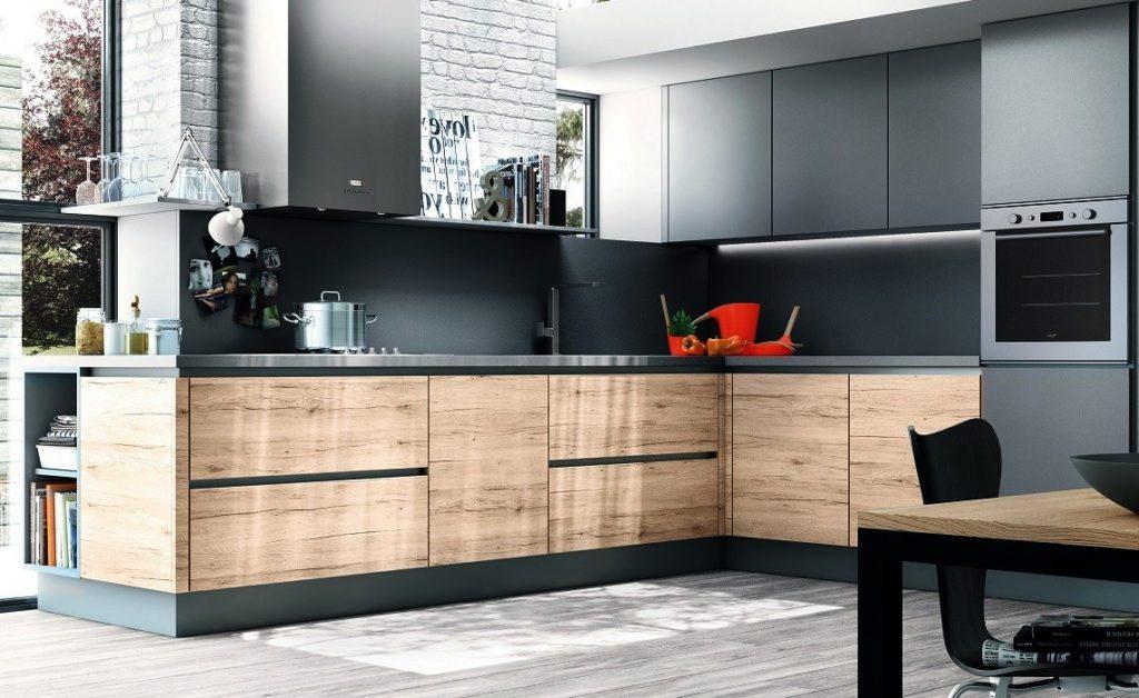 Угловая столешница для кухни: размеры цельных кухонных столешниц без швов и стыков и советы по их выбору