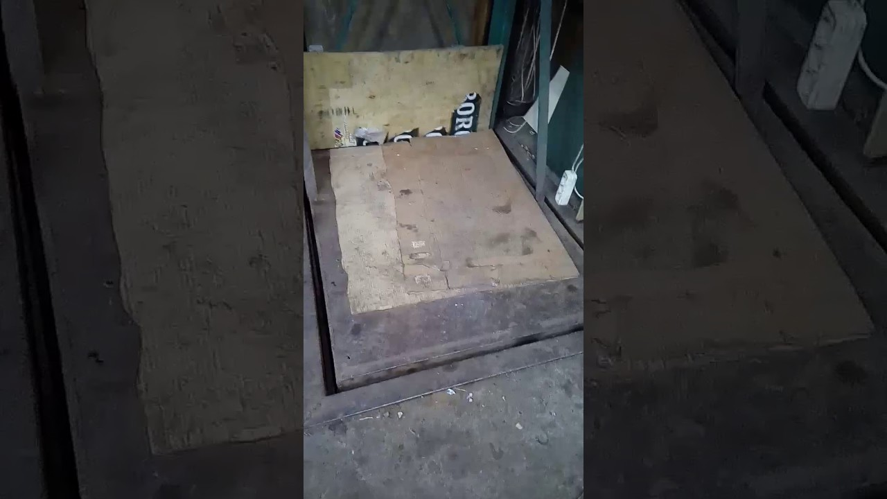 Лифт в погреб своими руками - о металле