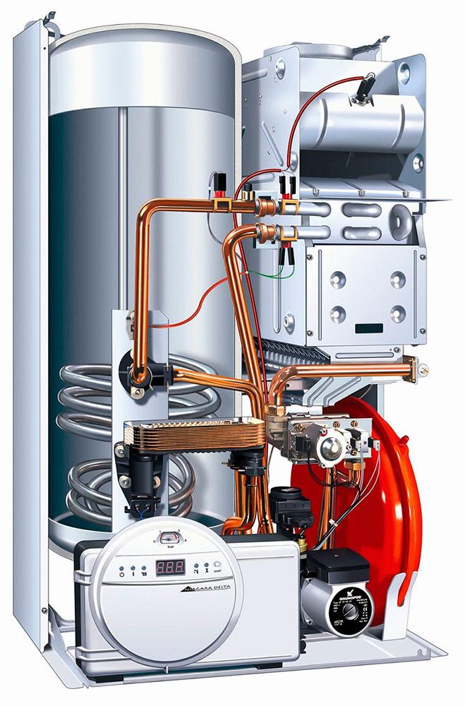газовые котлы для отопления и горячего водоснабжения