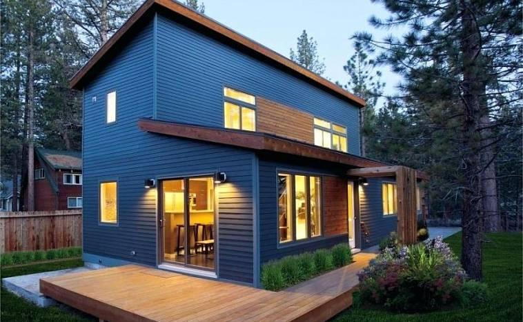 фасадные панели фото домов