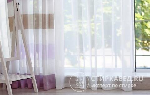 Как отбелить тюль в домашних условиях: 7 простых способов