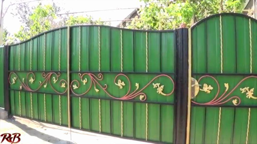 ворота из холодной ковки