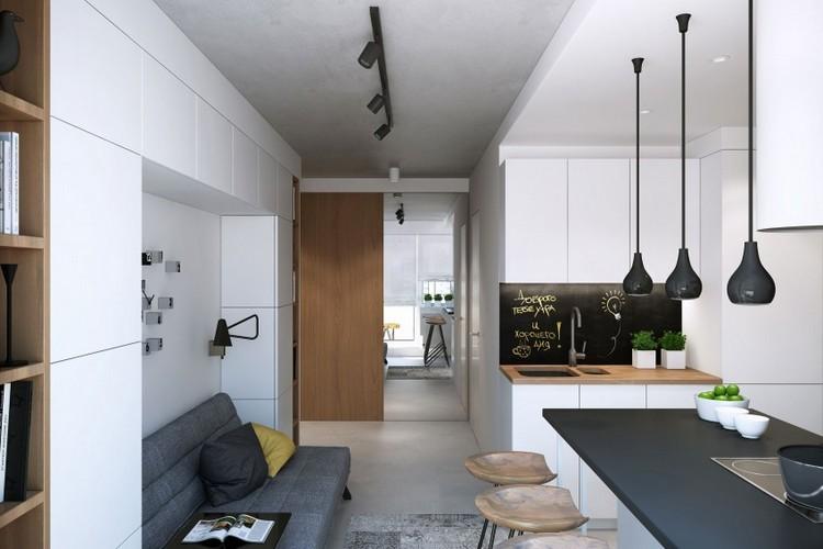 Дизайн двухкомнатной квартиры 50 кв. м. фото интерьеров и планировочных решений – ваш надёжный дом