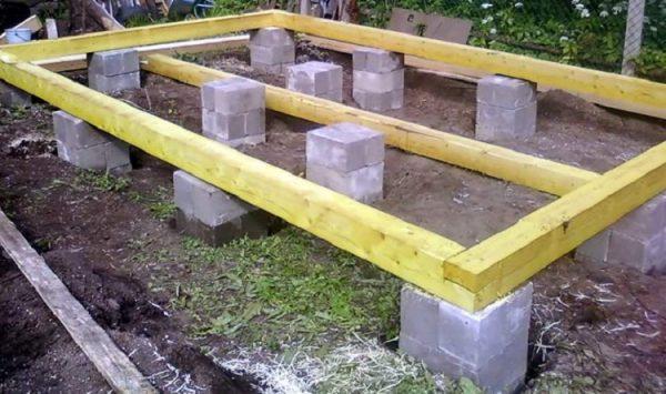фундамент для газобетонного дома