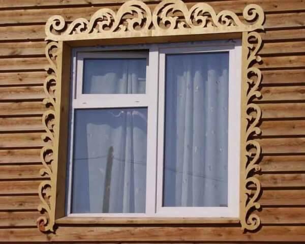 Наличники на окна — стильные идеи для современного деревянного дома (105 фото)