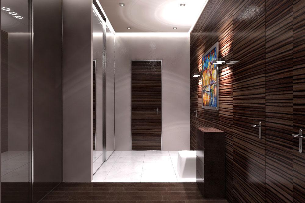 панели в коридор