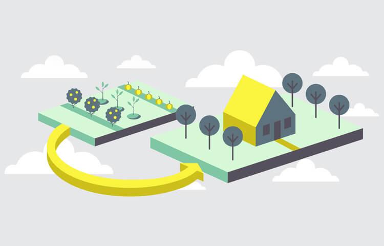 земли населенных пунктов для садоводства