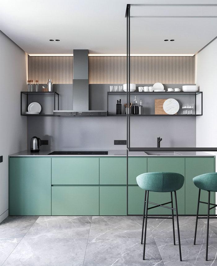 Современный дизайн кухни 2020-2021: фото кухни в современном и классическом дизайне