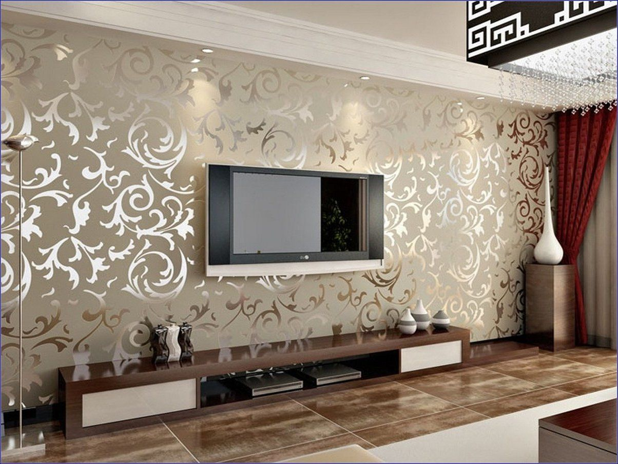 Обои в интерьере гостиной — 50 фото вариантов для дизайна — портал о строительстве, ремонте и дизайне