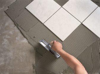 Шпатель для укладки плитки