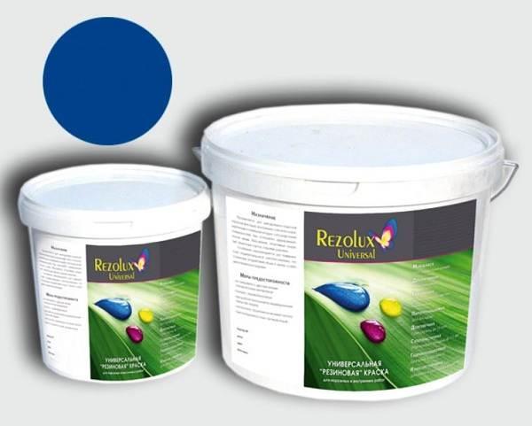 Краска резиновая для наружных работ износостойкая - описание + инструкция!