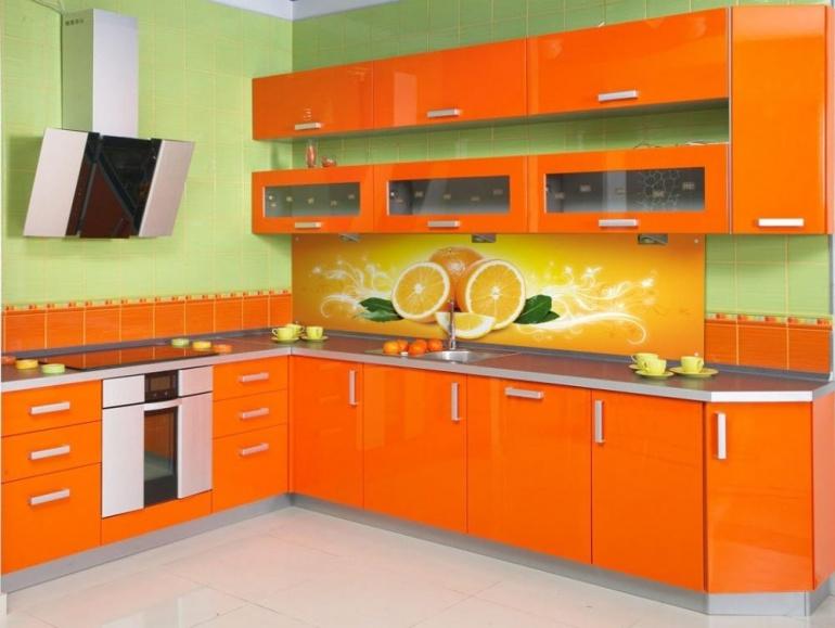 Оранжевый цвет в интерьере (81 фото): с какими цветами он сочетается? оранжевые стены и диваны, мебель апельсинового цвета