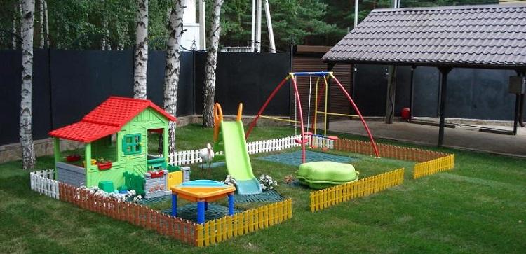 Делаем детскую площадку самостоятельно