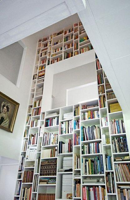 Интерьер библиотеки +50 фото примеров дизайна