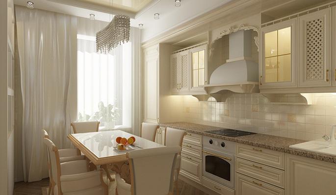 кухня 2 метра прямая дизайн фото