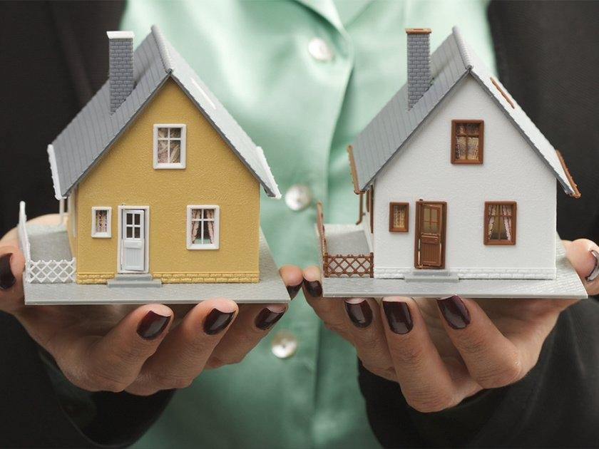 обмен домов на квартиры