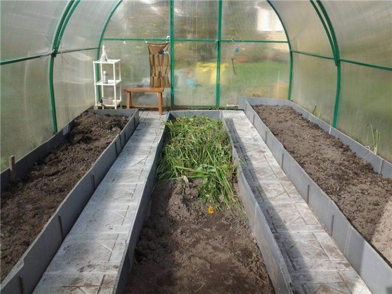 Теплые грядки в теплице или огороде - пошаговая инструкция по созданию весной или осенью с видео