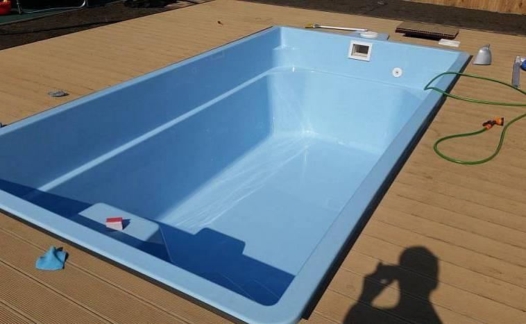 бассейн каркасный для дачи