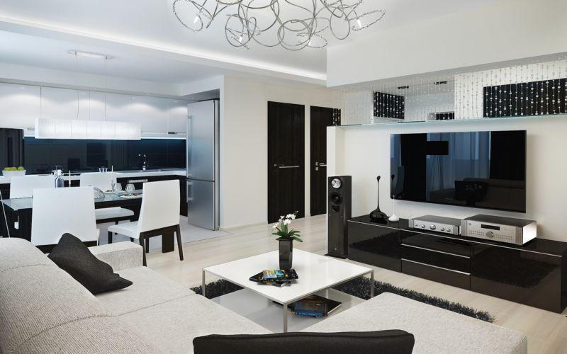 Интересные интерьеры в дизайне квартир