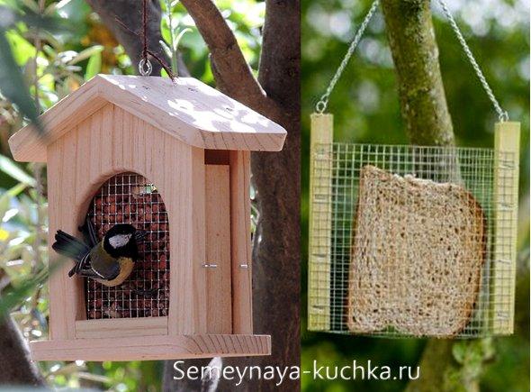 Разновидности кормушек для птиц и рекомендации по их установке