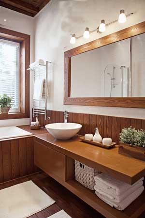 Ванная комната в каркасном доме: способы гидроизоляции