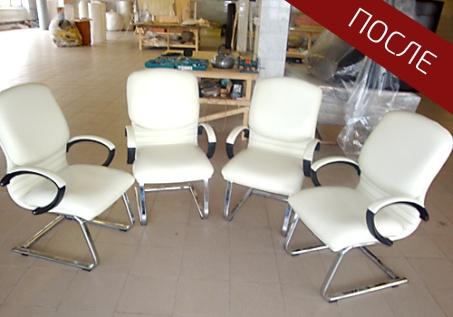 обтяжка стульев